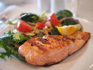 鮭のタンパク質